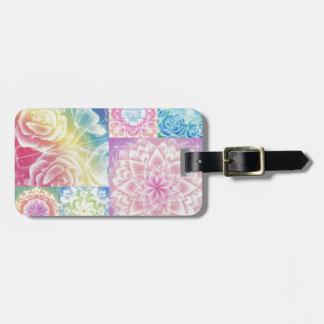 colorful 2 bag tags