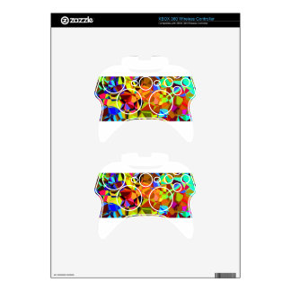 colorful #2 xbox 360 controller skins
