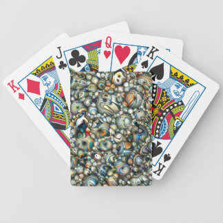 Colorful 3D Abstract Bicycle Playing Cards