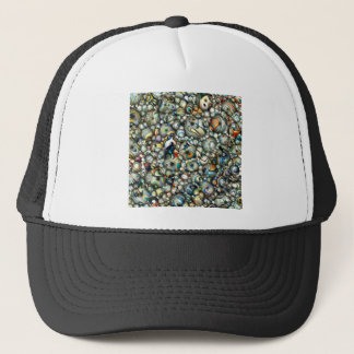 Colorful 3D Abstract Trucker Hat