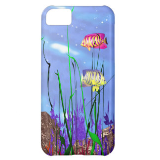 Colorful 3d Angelfish iPhone 5C Case