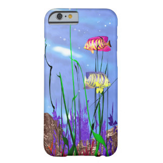 Colorful 3d Angelfish iPhone 6/6s Barely There iPhone 6 Case