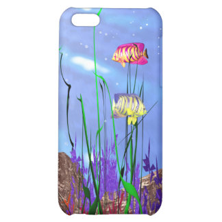 Colorful 3d Angelfish iPhone 5C Cover