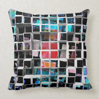 Colorful 3D Cubes 2 Pillows