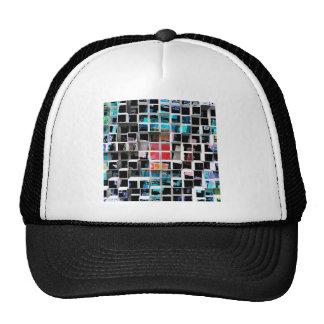 Colorful 3D Cubes 2 Trucker Hat