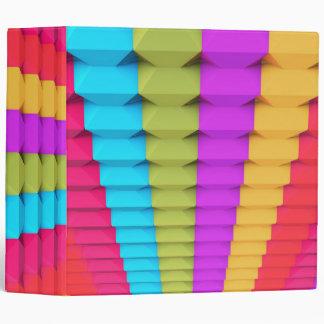 Colorful 3D Geometric Binder