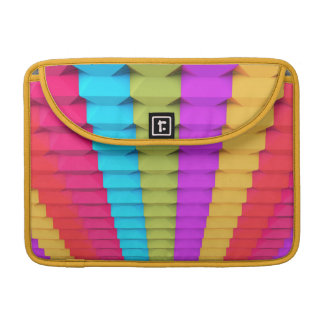 "Colorful 3D Geometric Macbook Pro 13"" Sleeve"