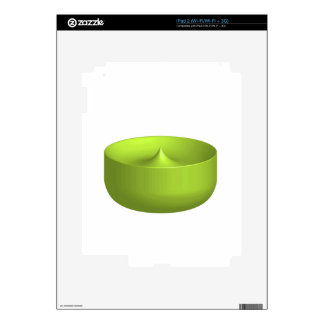 Colorful 3d object decals for the iPad 2