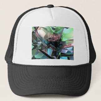 Colorful 3D Reflections Trucker Hat