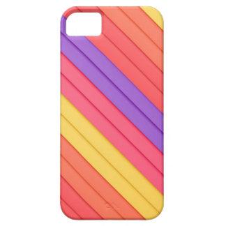 Colorful 3D Stripes iPhone SE/5/5s Case
