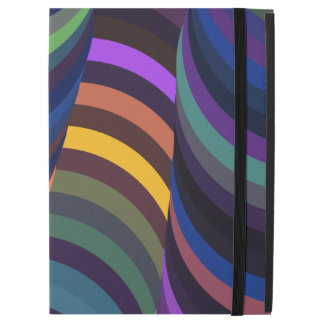 Colorful 3D Swirls iPad Pro Case