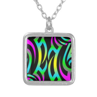 Colorful 3D Tattoo - Necklace