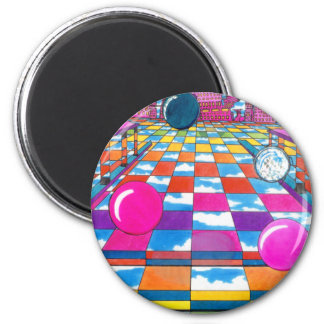 Colorful 60s Inspired Pop Art Magnets Party Favors