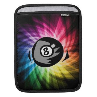 Colorful 8 ball iPad sleeve