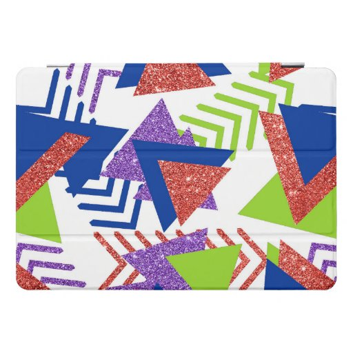 Colorful 90s Abstract | Artsy 80s Palette Shapes iPad Pro Cover