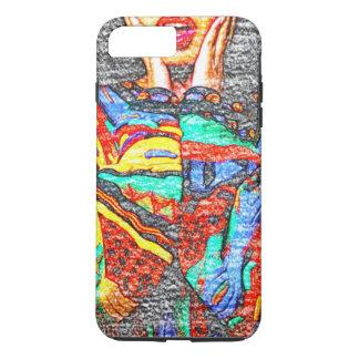 Colorful 90s iPhone 7 Plus Phone Case