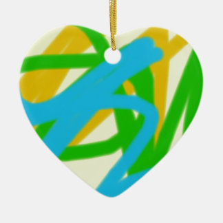 colorful 9777 abstract art ceramic ornament