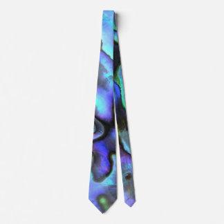Colorful Abalone Seashell, Beautiful Nature Tie