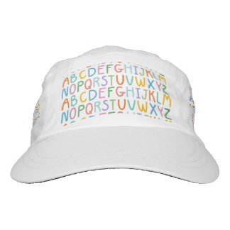 Colorful ABCs Hat