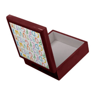 Colorful ABCs Jewelry Box