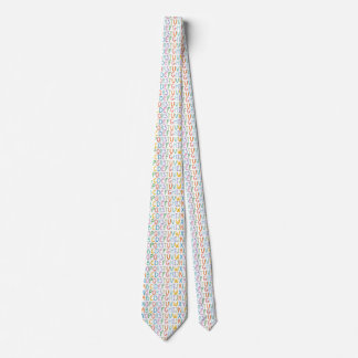 Colorful ABCs Tie