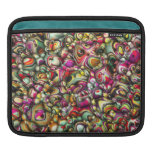 Colorful Abstract 3D Shapes iPad Sleeve