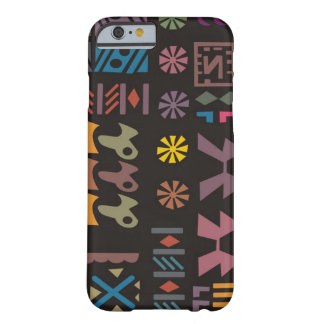 Colorful abstract African art Barely There iPhone 6 Case