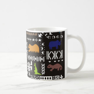Colorful abstract African art Coffee Mug