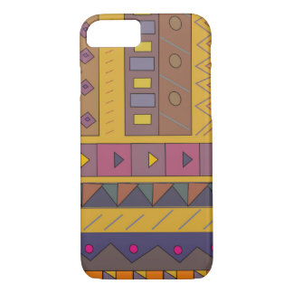 Colorful abstract African art iPhone 8/7 Case