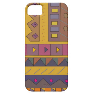 Colorful abstract African art iPhone SE/5/5s Case