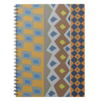 Colorful abstract African art Notebook