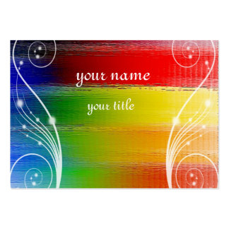 colorful Abstract art Business Card Templates