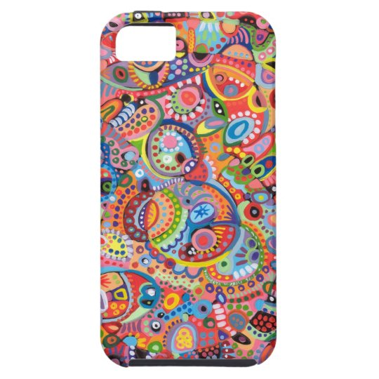 Colorful Abstract Art iPhone 5 Case