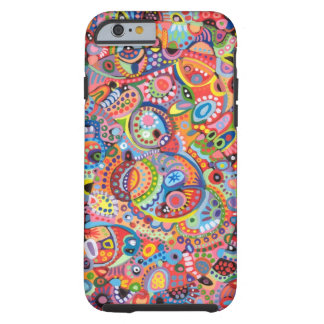 Colorful Abstract Art iPhone 6 case