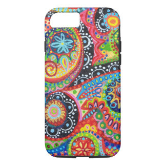 Colorful Abstract Art iPhone 7 case
