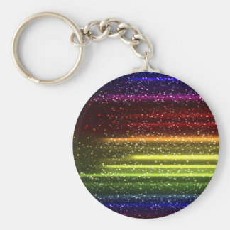 Colorful Abstract Art Keychain
