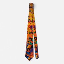 Colorful Abstract Art Neck Tie