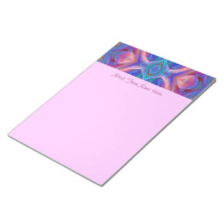 Colorful  Abstract Art Scratch Pad