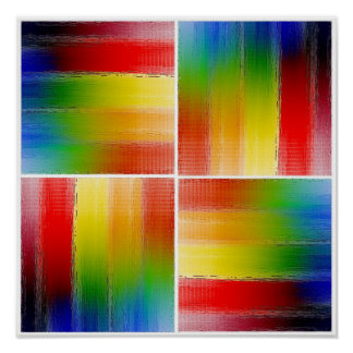 colorful Abstract art Poster