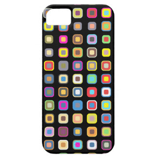 Colorful Abstract Art Vector  Apple Case