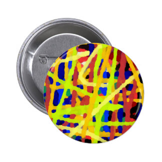 Colorful Abstract Artwork Button
