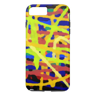 Colorful Abstract Artwork iPhone 7 Plus Case