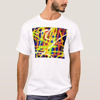 Colorful Abstract Artwork T-Shirt