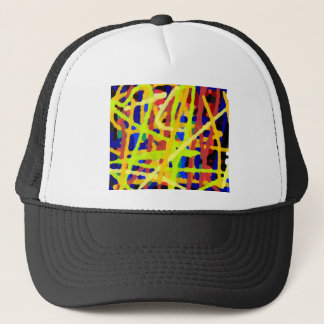 Colorful Abstract Artwork Trucker Hat