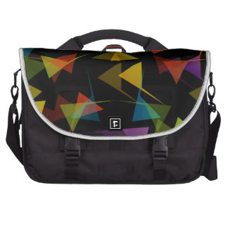 Colorful abstract background laptop computer bag
