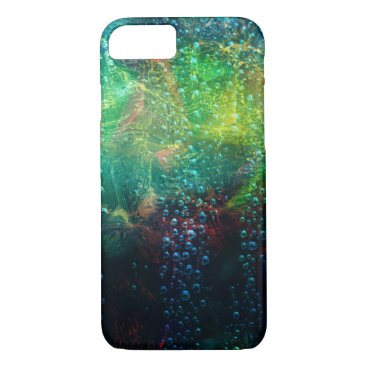 all_summer_products Colorful Abstract Background With water Drops Case