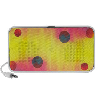 Colorful Abstract Balls speaker