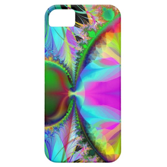 Colorful Abstract Barely There iPhone 5 Case