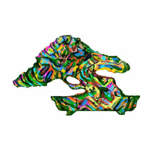 Colorful Abstract Bonsai Shaped Magnet