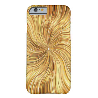 Colorful Abstract Brown Reflective Barely There iPhone 6 Case